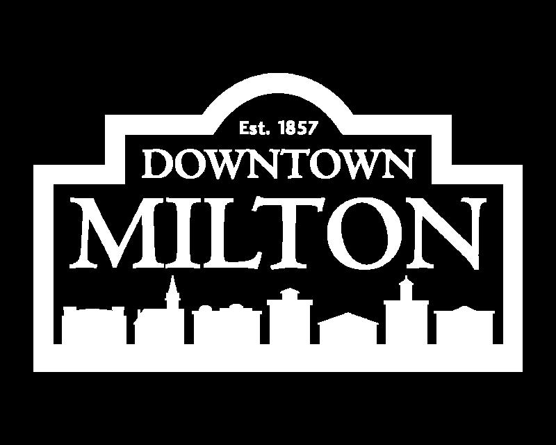 Downtown Milton White Logo